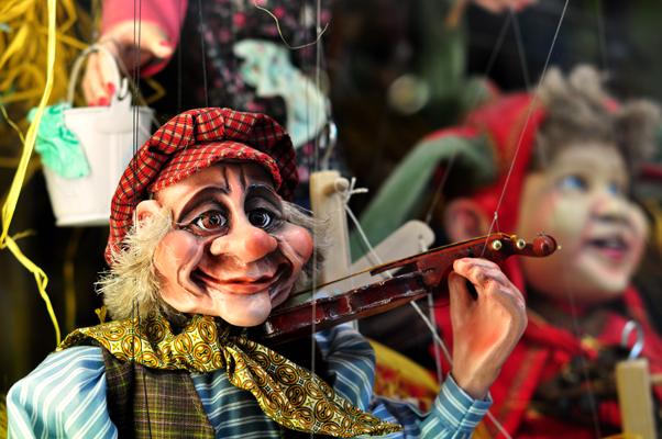 Papusi Marionete