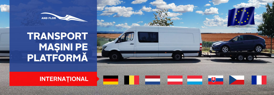 transport masini pe platforma Germania, Belgia